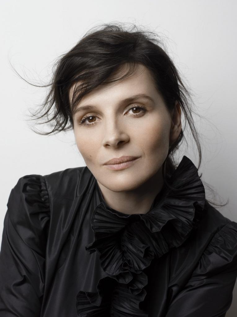 Презентация новой французской комедии с актрисой Жульет Бинош в главной роли