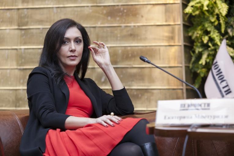 Ведущая Екатерина Мцитуридзе тоже стала жертвой домогательств Харви Вайнштейна