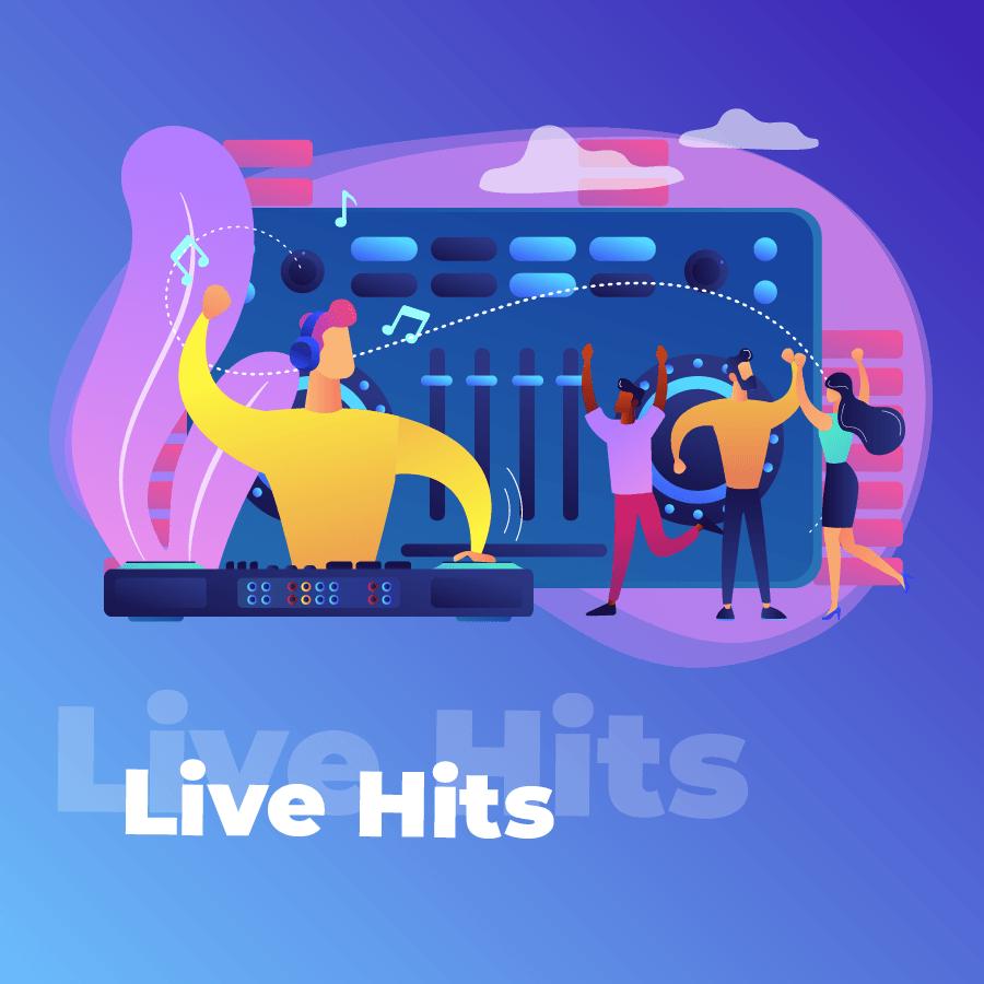 Станция Live Hits на 101.ru