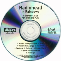 In Rainbows (For Overhead Play) [CDr, US promo]