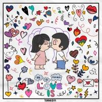 Как на фантиках Love Is
