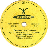 Поют Олег Анофриев и Ирина Бржевская