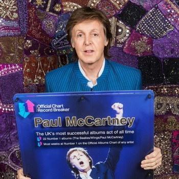В британских чартах Пол Маккратни стал рекордсменом