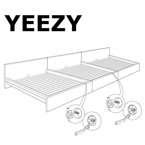 Канье Уэст «замахнулся» на IKEA