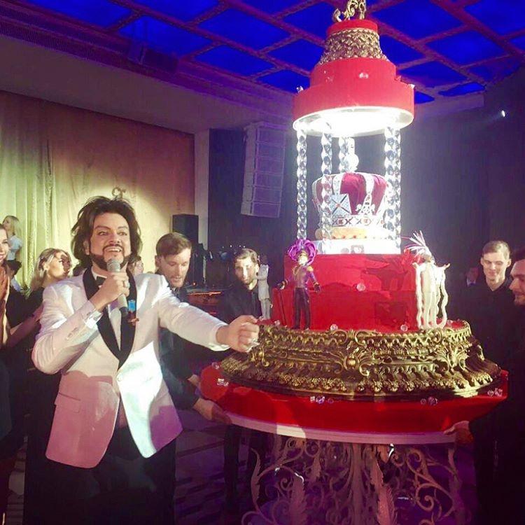 Филипп Киркоров отметил юбилей на 40 миллионов
