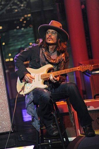 Джонни Депп сыграл для Боба Дилана