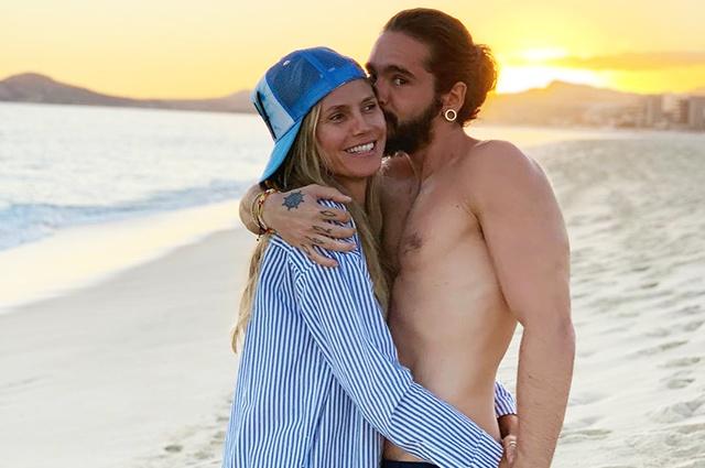 Хайди Клум и Том Каулитц устроили романтические каникулы