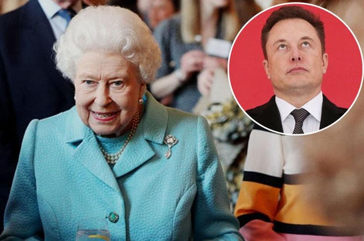 Илон Маск опубликовал мем, главной героиней которого стала британская королева