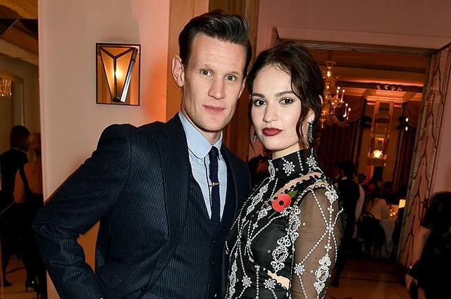 Лили Джеймс и Мэтт Смит воссоединились после долгого расставания?