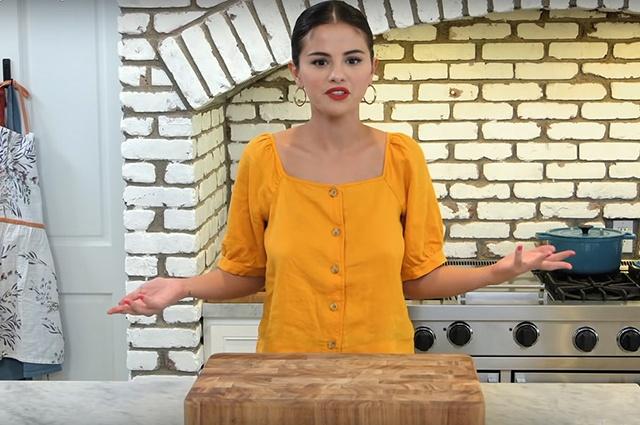 Селена Гомес представила новое кулинарное шоу