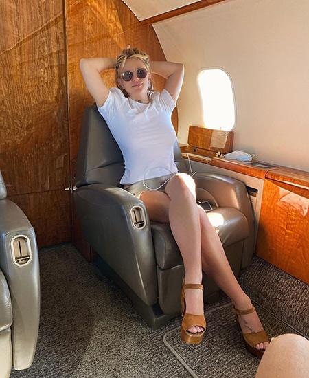 Бритни Спирс отправилась отдыхать вместе с возлюбленным