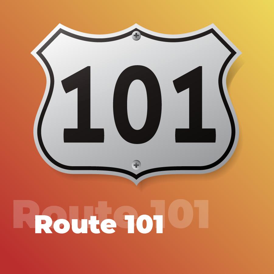 Станция Route 101 на 101.ru